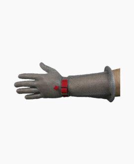 Guanto acciaio con protezione 300A_BL | Seba Group Shop