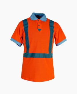 Maglietta polo hv arancio 132AV SH | Seba Group Shop