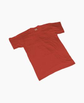 maglietta cotone rossa 464R | Seba Group Shop